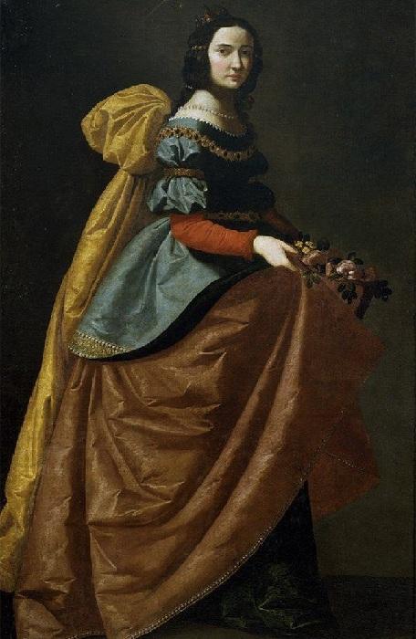 Святая Изабелла Португальская, 1635. Мадрид, Прадо.