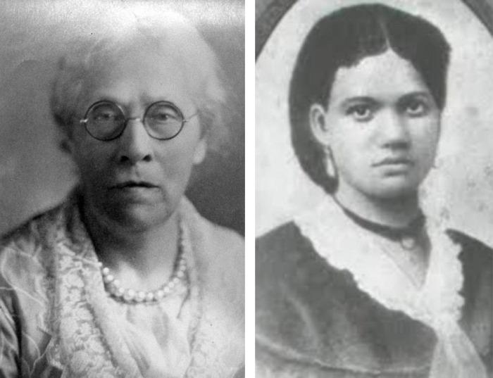 Две внучки Салли: Харриет (слева) и Эллен (справа). /Фото:dailymail.co.uk